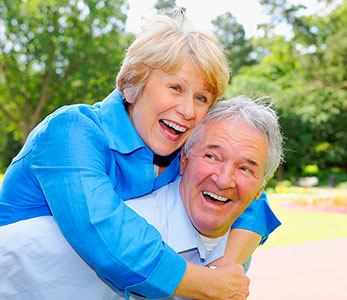 Don't put up with loose dentures – we have the solution